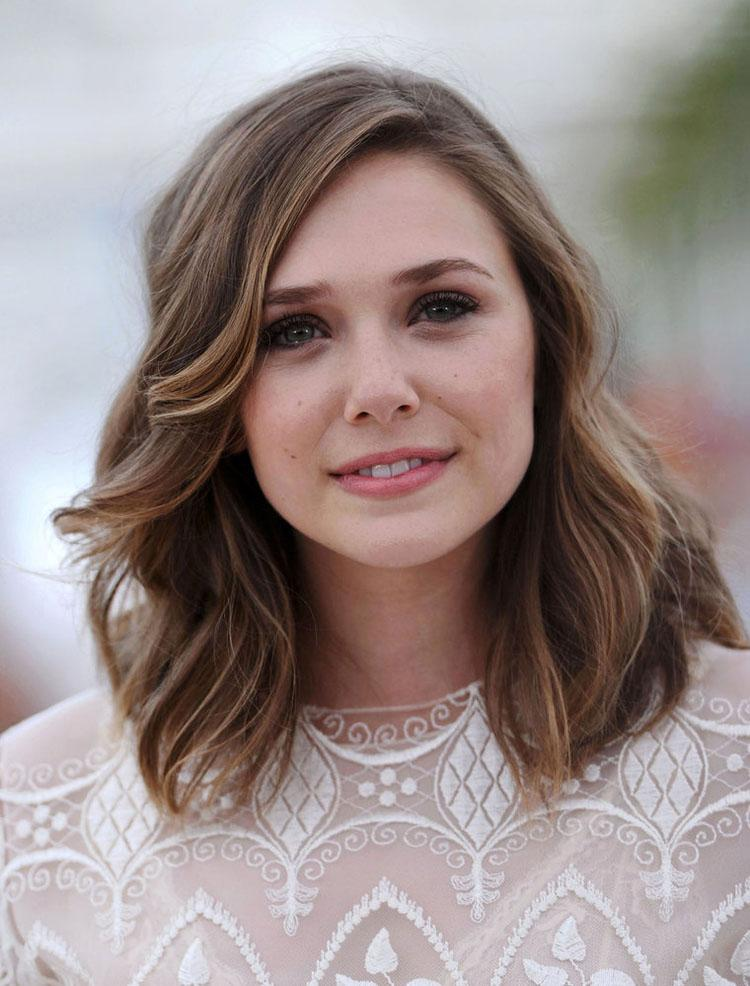 25 Beautiful Medium Length Haircuts For Round Faces » Wassup Mate