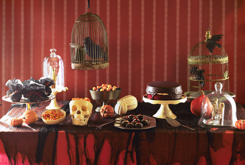 41 halloween food decorations ideas to impress your guest. Black Bedroom Furniture Sets. Home Design Ideas