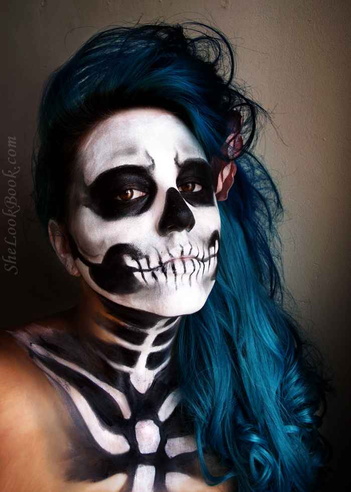 Halloween Best Cavalera Makeup Sugar Skull