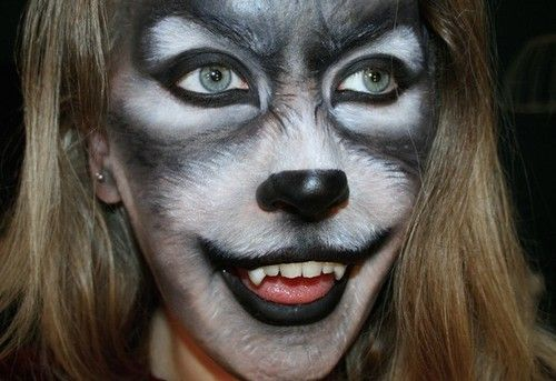 Special Effects Wolf Makeup