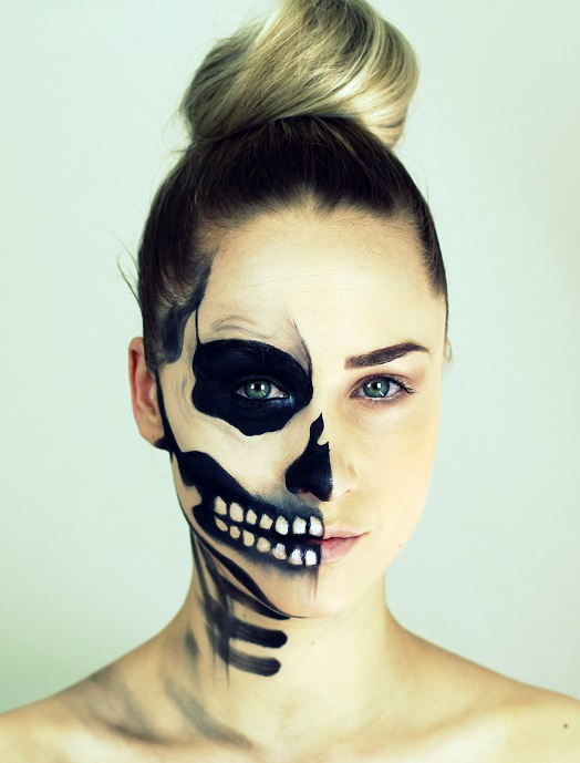 41 Beautiful & Colorful Sugar Skull Halloween Makeup Ideas