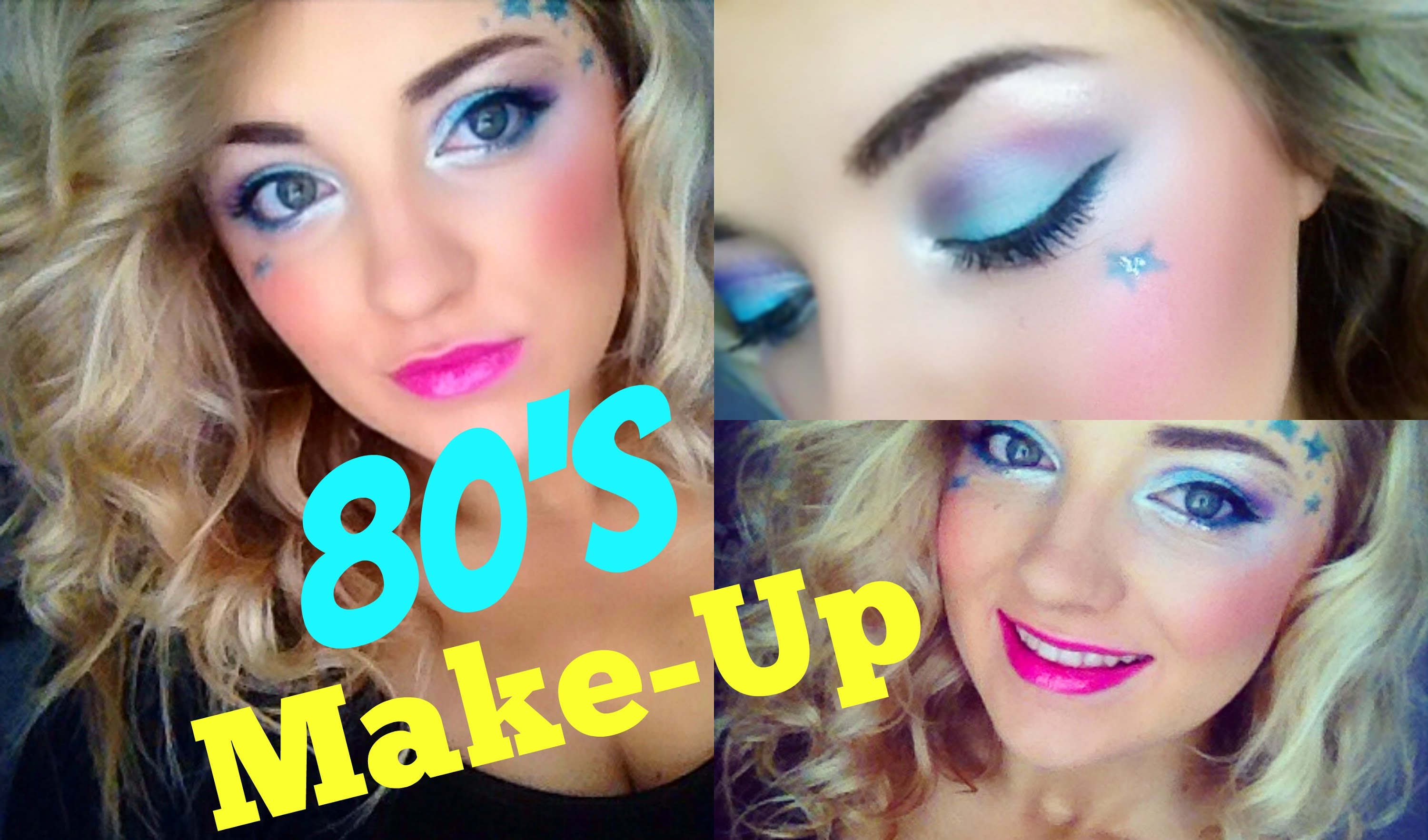 80s Make up look