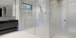 Glass Shower Door For Trendy Bathroom Updates