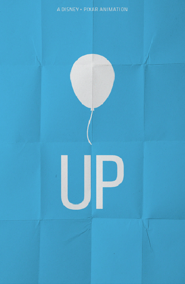 up movie minimalist poster