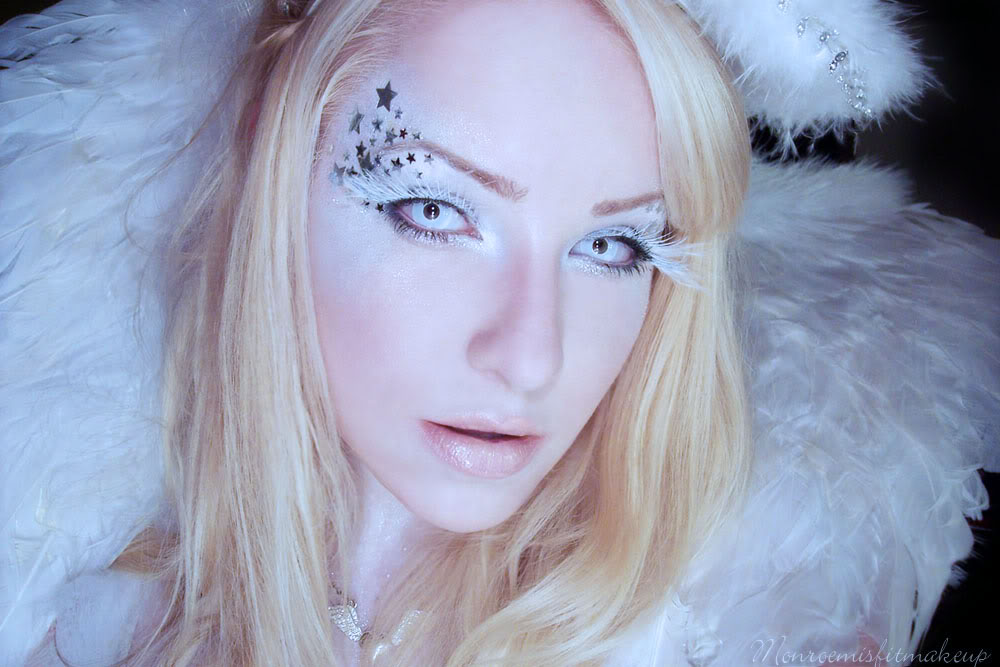 angel halloween makeup - photo #2