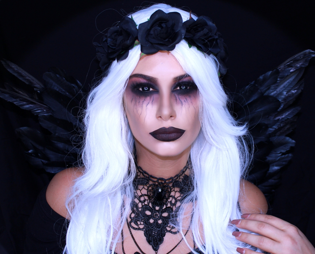 21 Simple Pretty Look Angel Halloween Makeup Ideas