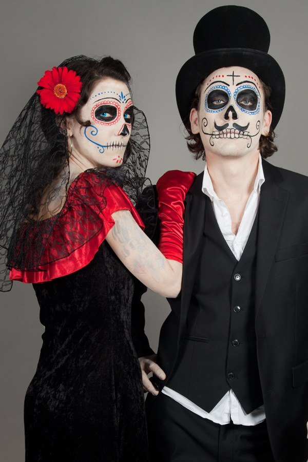 day of the dead couple - photo #3